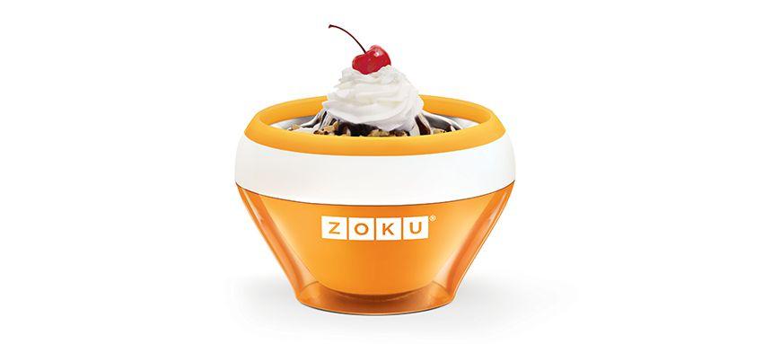 美國 ZOKU 快速製冰淇淋機 (橘)