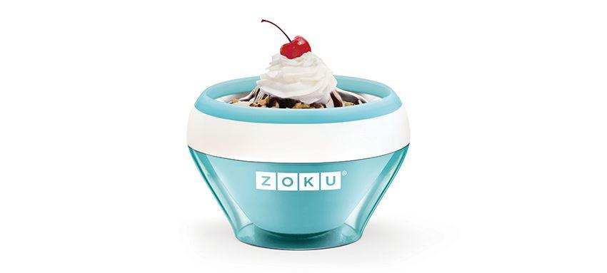 美國 ZOKU 快速製冰淇淋機 (淺藍)