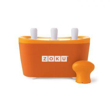 ZOKU快速製冰棒機(三支裝)-橘色