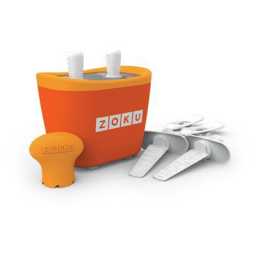 ZOKU快速製冰棒機(兩支裝)-橘色