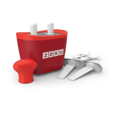 ZOKU快速製冰棒機(兩支裝)-紅色