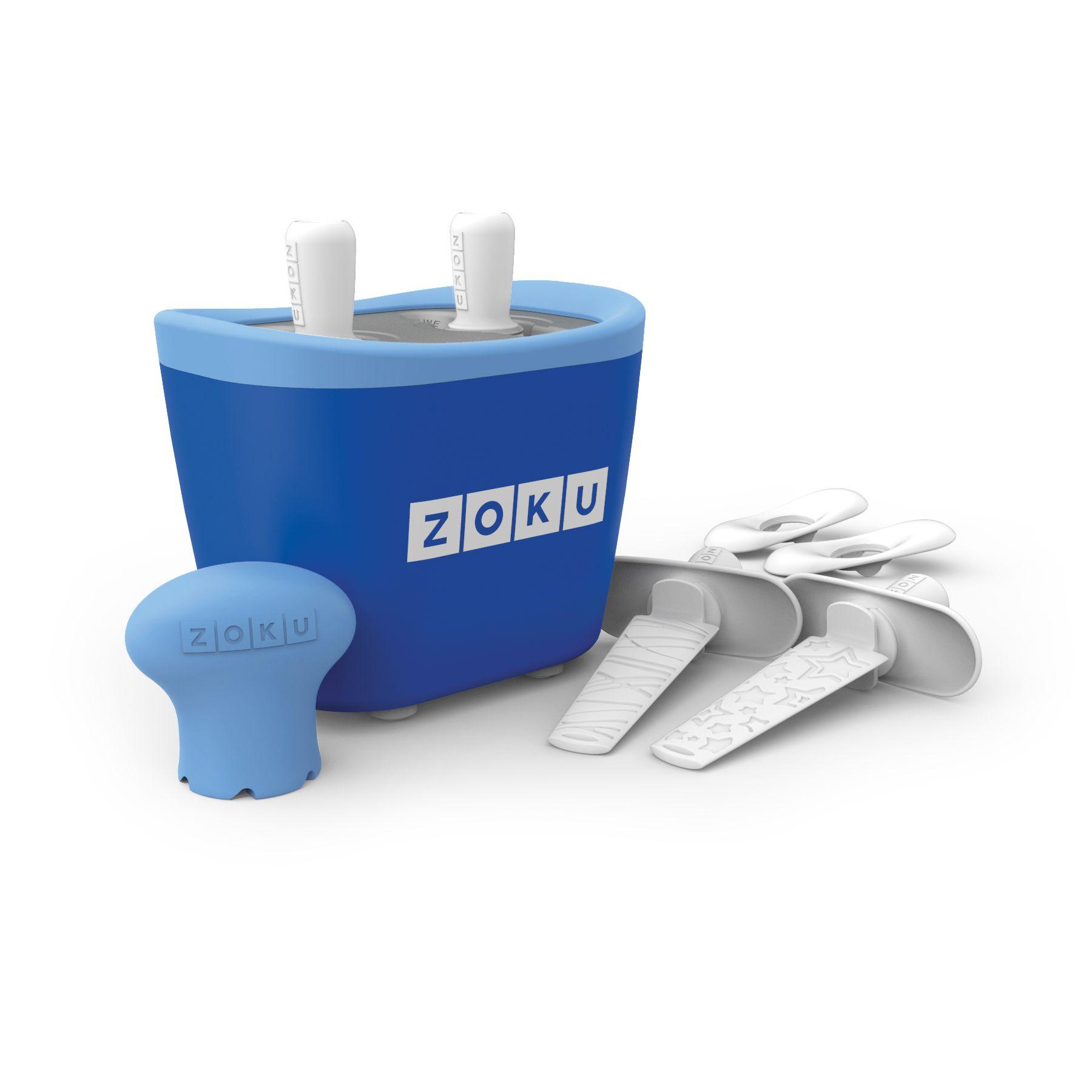 美國 ZOKU 快速製冰棒機 兩支裝 (藍)