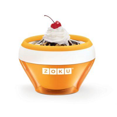 ZOKU快速製冰淇淋機-橘色