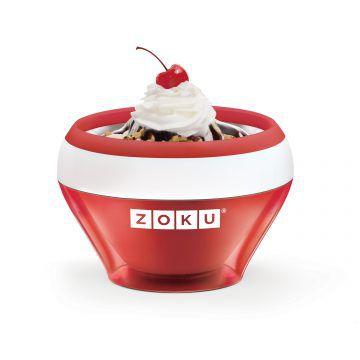 ZOKU快速製冰淇淋機-紅色