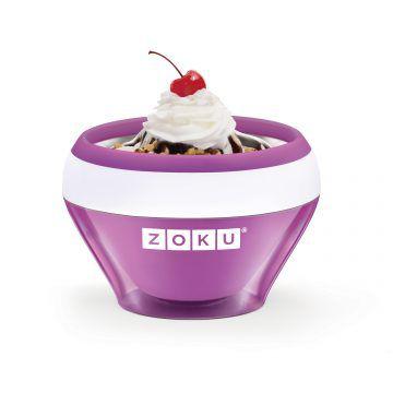 ZOKU快速製冰淇淋機-紫色