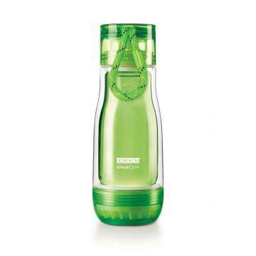 ZOKU繽紛玻璃雙層隨身瓶(355ml)_綠色
