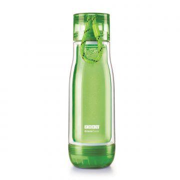 ZOKU繽紛玻璃雙層隨身瓶(475ml)_綠色