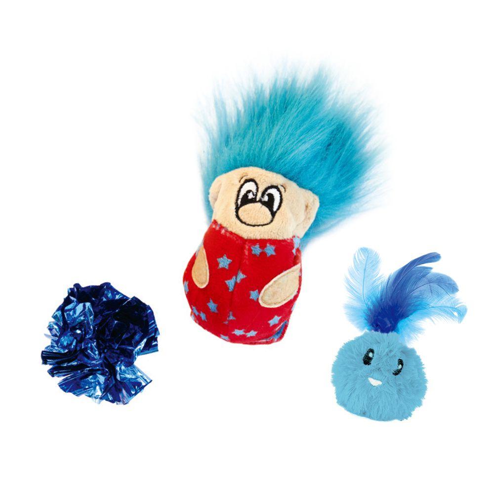 三合1小貓元氣組-藍色