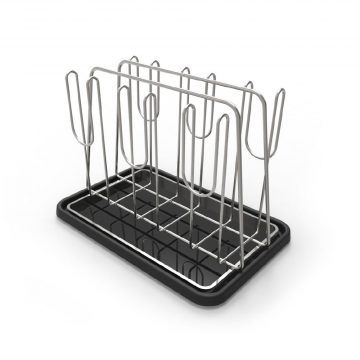 CBJ_Flow廚房系列玻璃杯砧板立架(單一規格)