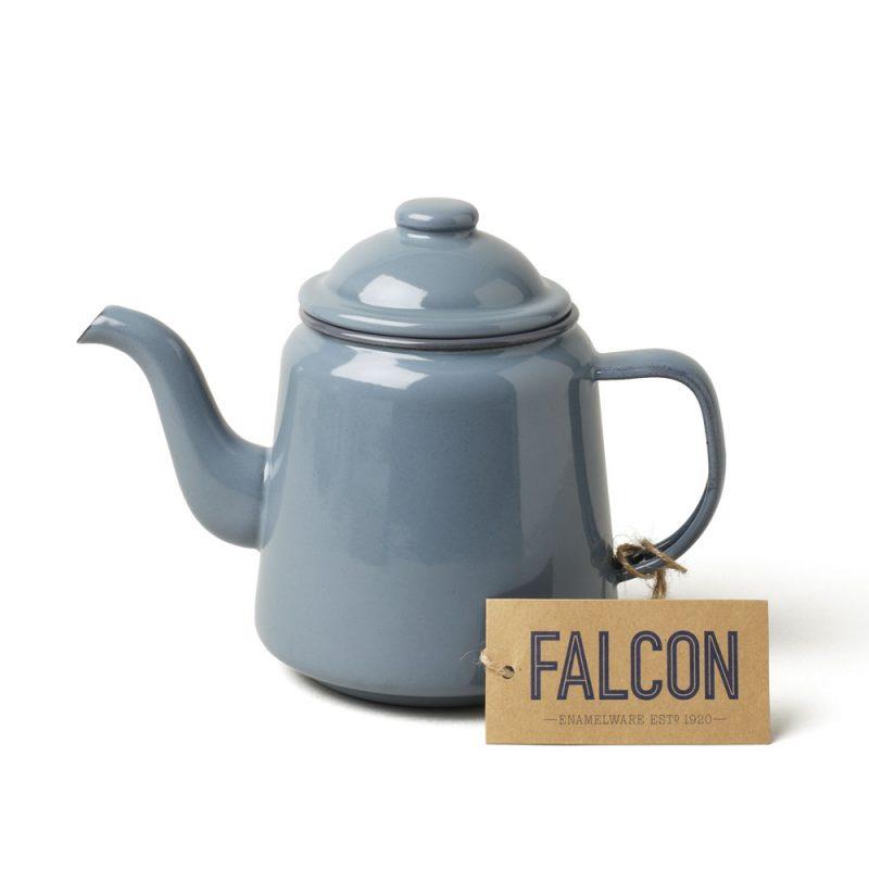 英國 Falcon 獵鷹琺瑯 茶壺 (灰)
