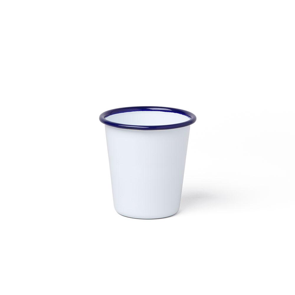英國 Falcon 獵鷹琺瑯 水杯 310ml (藍白)