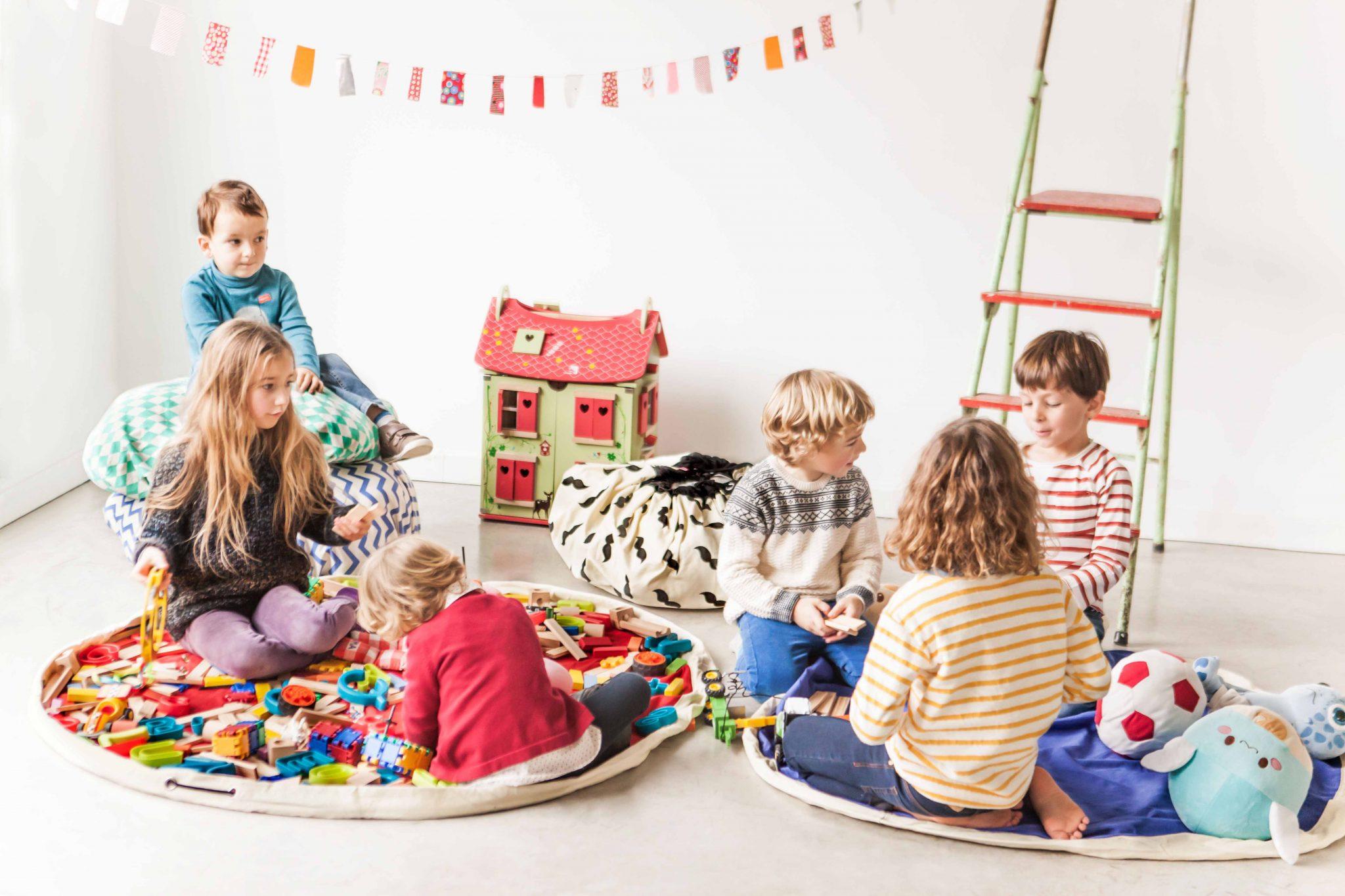 比利時 play & go 玩具整理袋 (經典紅)
