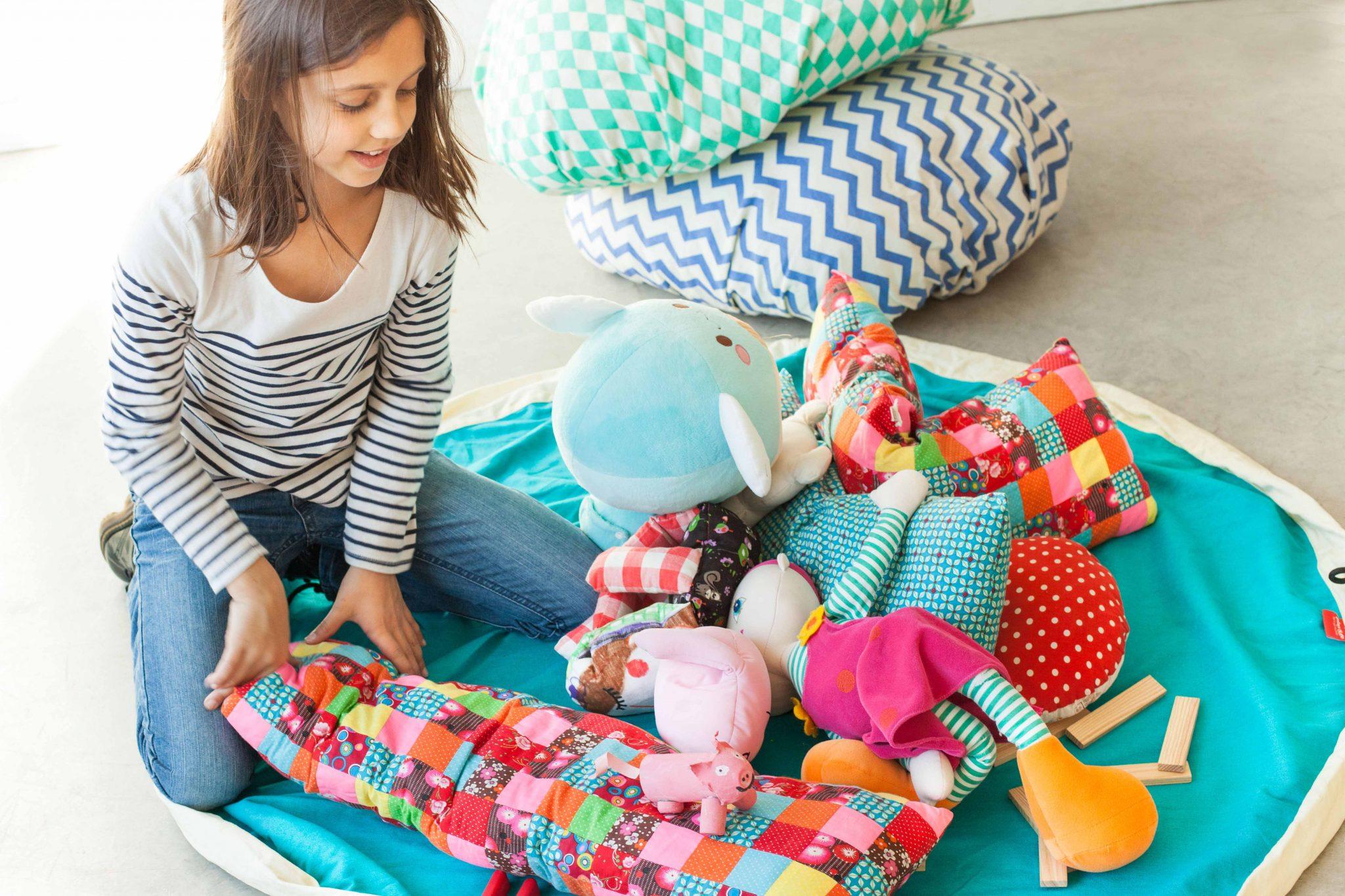 比利時 play & go 玩具整理袋 (經典綠)