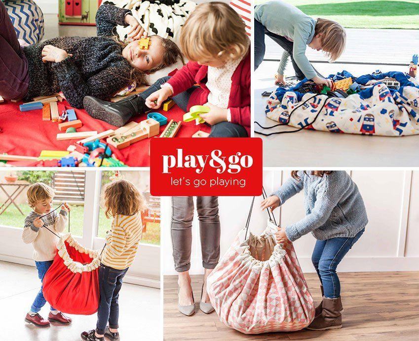 比利時 play & go 玩具整理袋