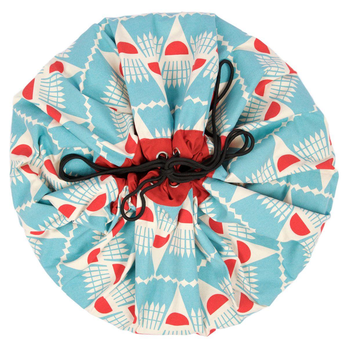 比利時 play & go 玩具整理袋 藝術家聯名款 (羽球)
