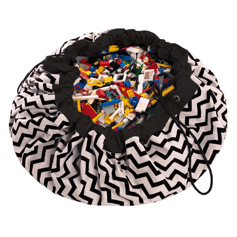 比利時 play & go 玩具整理袋 (電波黑)