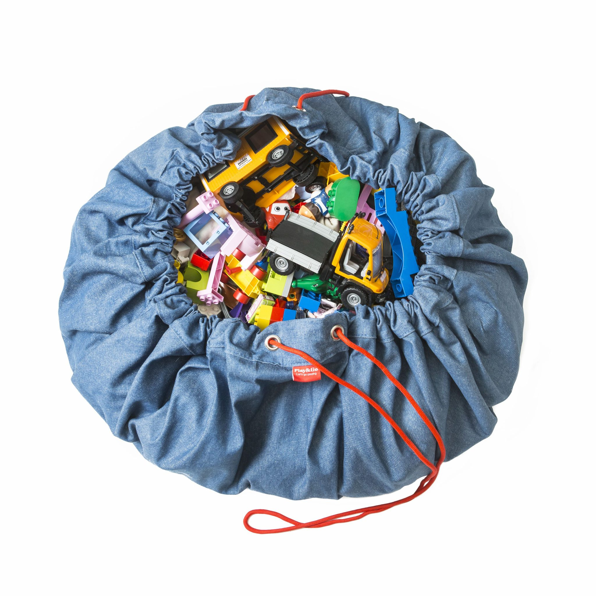 比利時 play & go 玩具整理袋 (經典牛仔)