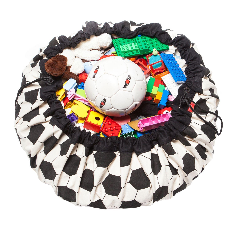 比利時 play & go 玩具整理袋 (可愛足球)