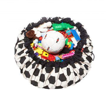 play&go玩具整理袋(可愛足球)