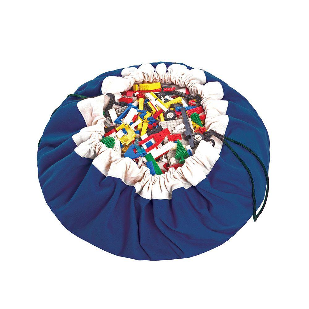 比利時 play & go 玩具整理袋 (經典藍)