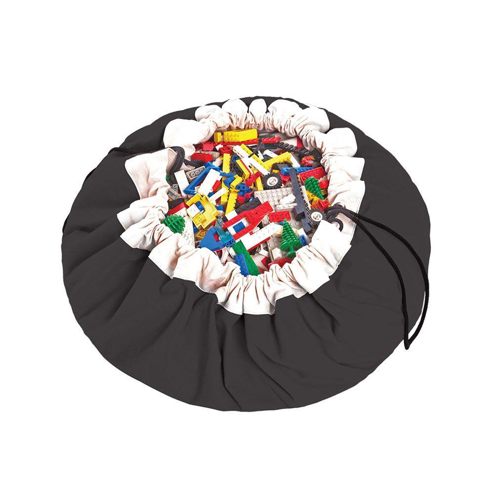 比利時 play & go 玩具整理袋 (經典黑)