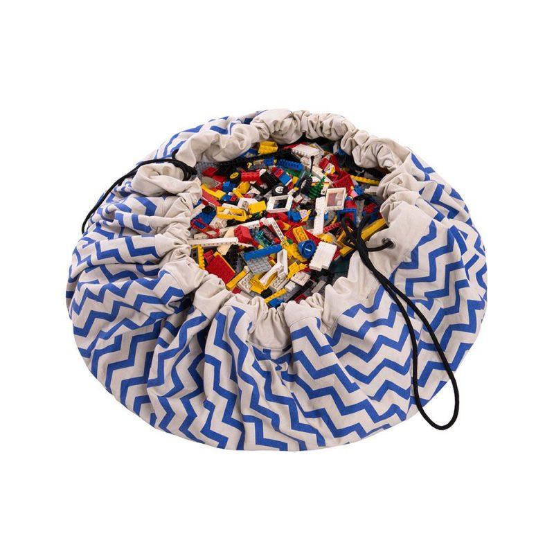 比利時 play & go 玩具整理袋 (電波藍)