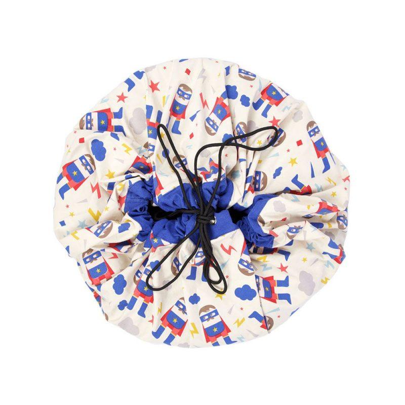 比利時 play & go 玩具整理袋 藝術家聯名款 (超級英雄)
