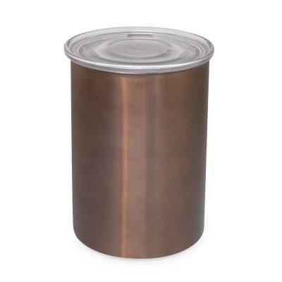 AirScape 專利排氣閥不鏽鋼密封罐/儲豆罐 64oz 摩卡棕