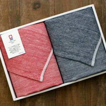 IORI_商品主圖_UMI宇海洗臉巾禮盒(紅 藍)