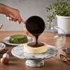 JEmarble 大理石蛋糕圓形轉盤 / 高腳轉台旗艦版 28cm (附溝盤玻璃款)