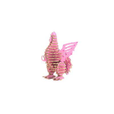 TENONART_布萊梅_公雞(粉紅波點)1