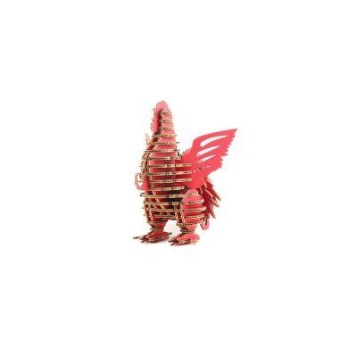 TENONART_布萊梅_公雞(紅)1