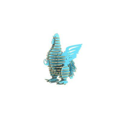 TENONART_布萊梅_公雞(藍)1