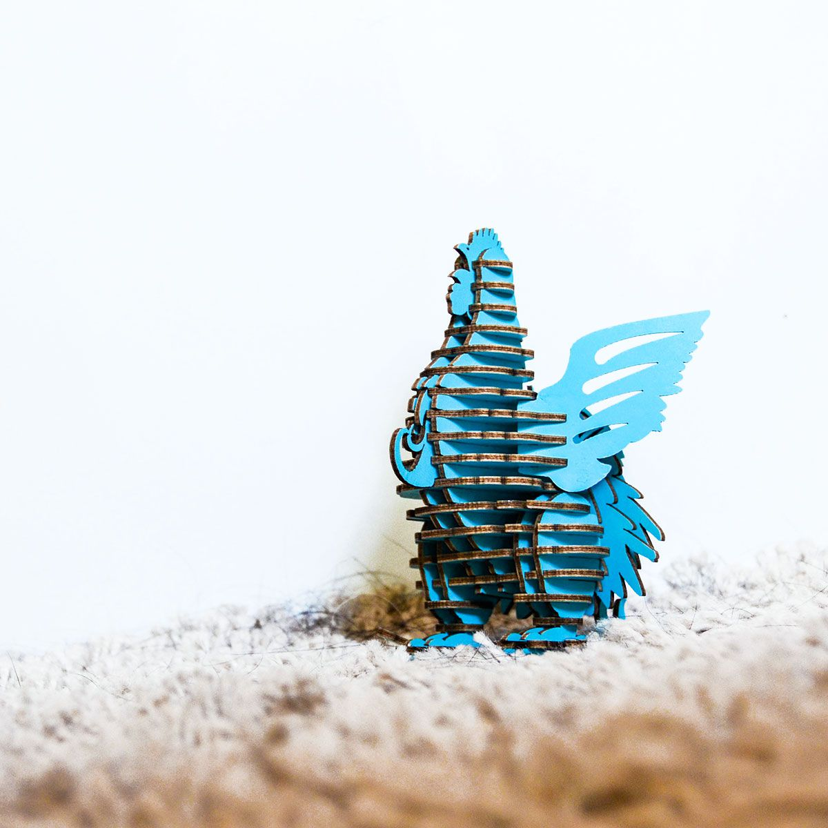 TENONART 布萊梅城市樂手 雞 (藍/未組裝)
