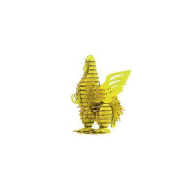 TENONART_布萊梅_公雞(黃)1
