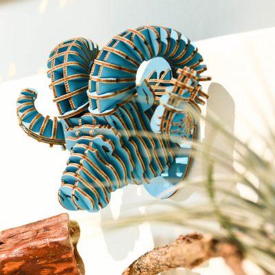 TENONART 攀岩飛羊掛飾 (藍/未組裝)