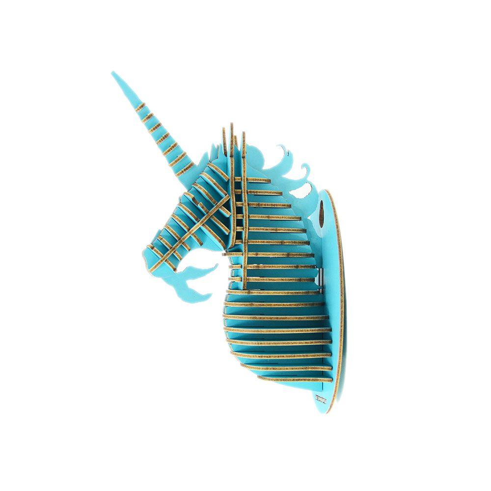 TENONART 獨角獸掛飾 (藍/未組裝)