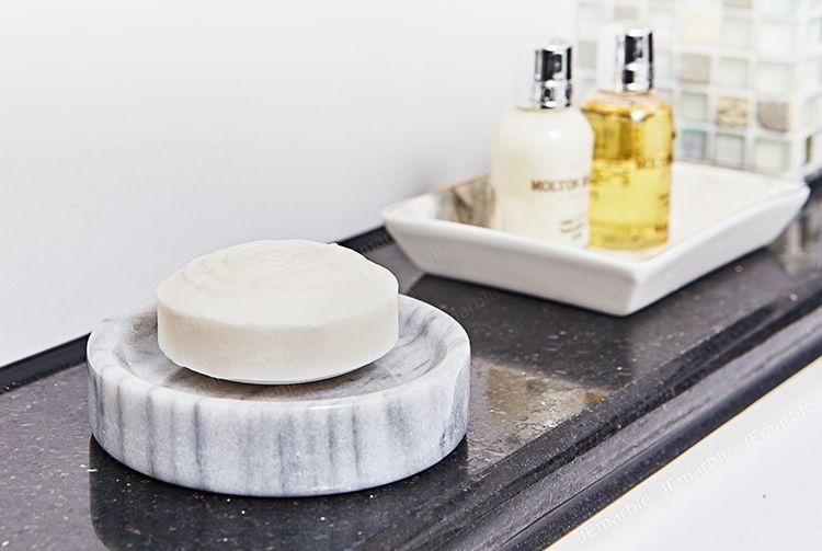 JEmarble 天然大理石肥皂盤