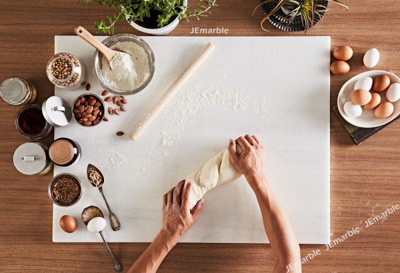 JEmarble 天然大理石料理板/揉麵墊/巧克力調溫砧板 60x80公分 (超大)