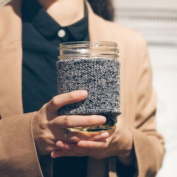 梅森罐專用杯套M