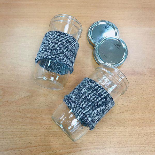 Ball 梅森罐 冬日暖手熱飲專用杯2入組 (24oz寬口)