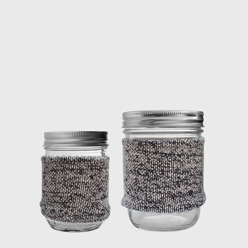 Ball 梅森罐 冬日暖手熱飲專用杯2入組 (16oz寬口+8oz窄口)