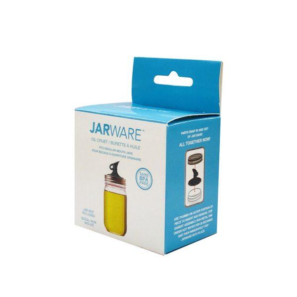 JARWARE 梅森罐專用 窄口油嘴瓶蓋