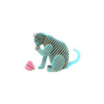 TENONART_貓系列_道歉貓(藍)3