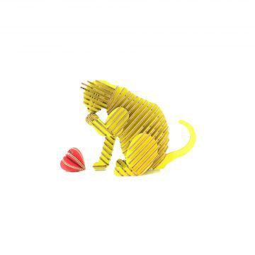 TENONART_貓系列_道歉貓(黃)3