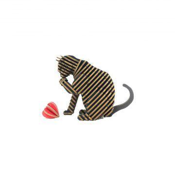 TENONART_貓系列_道歉貓(黑)3