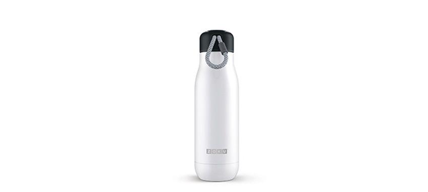美國 ZOKU真空不鏽鋼保溫瓶 500ml 珍珠白1