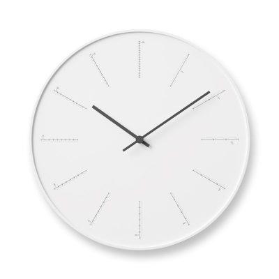 日本 Lemnos 分割時鐘 (白)
