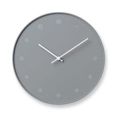 日本 Lemnos 分子時鐘 (灰)