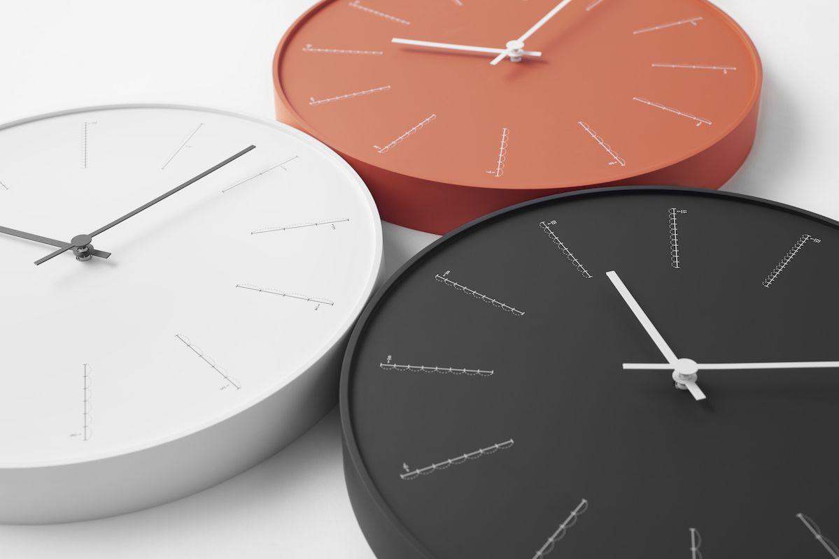 日本 Lemnos 分割時鐘